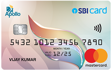 Apollo SBI Card Details and Benefits