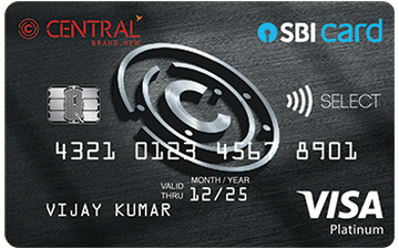 Central SBI Select Card Details and Benefits