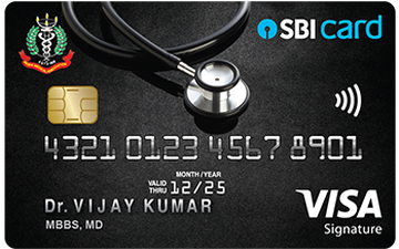 Doctor's SBI Card (in association with IMA) Details and Benefits