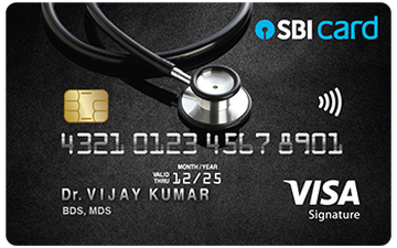 Doctor's SBI Credit Card Details and Benefits