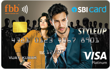 fbb SBI STYLEUP Card Details and Benefits