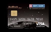 HDFC All Miles Cerdit Card