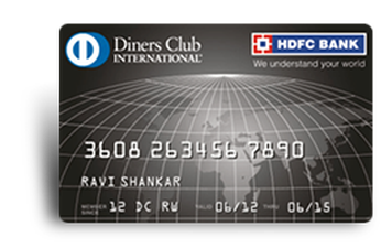 HDFC Diners Club Black Credit Card Details and Benefits