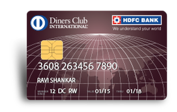 HDFC Diners Club Premium Credit Card Details and Benefits