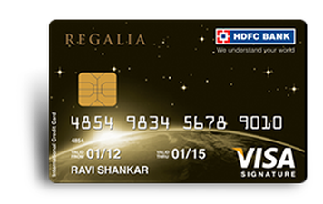 HDFC Doctor's Regalia Credit Card Details and Benefits