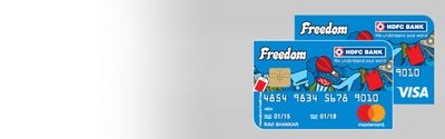 HDFC Freedom Credit Card Details and Benefits