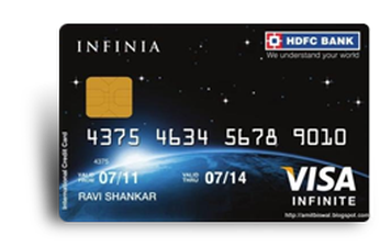 HDFC Infinia Credit Card Details and Benefits