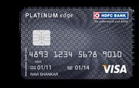HDFC Platinum Edge Credit Card