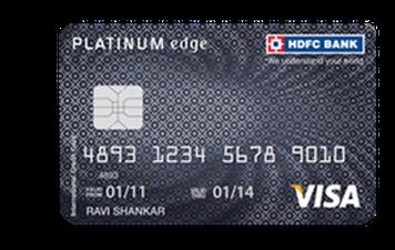 HDFC Platinum Edge Credit Card Details and Benefits