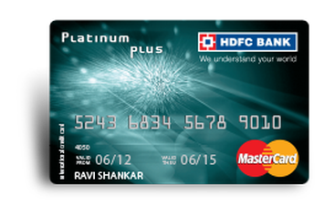 HDFC Platinum Plus Credit Card Details and Benefits
