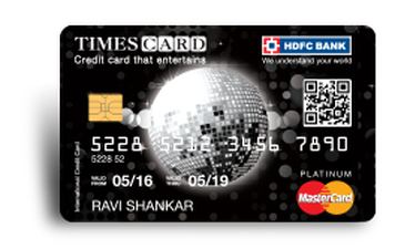 HDFC Platinum Times Credit Card Details and Benefits