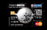 HDFC Platinum Times Credit Card