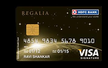 HDFC Regalia Credit Card Details and Benefits