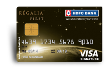 HDFC Regalia First Credit Card Details and Benefits
