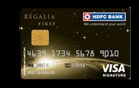 HDFC Regalia First Credit Card