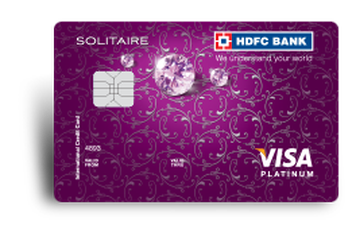 HDFC Solitaire Credit Card Details and Benefits