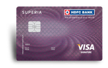HDFC Superia Credit Card Details and Benefits