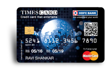 HDFC Titanium Times Credit Card Details and Benefits