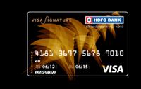 HDFC Visa Signature Credit Card