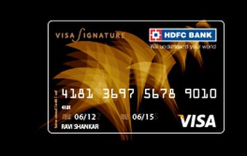 HDFC Visa Signature Credit Card Details and Benefits