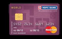 HDFC World MasterCard Credit Card