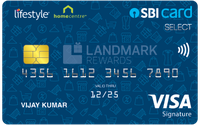 Lifestyle Home Centre SBI Card SELECT