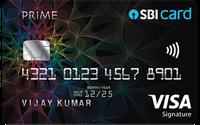 SBI PRIME Advantage Credit Card