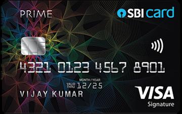 SBI PRIME Advantage Credit Card Details and Benefits