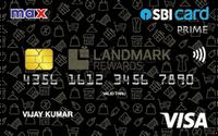 Max SBI Card PRIME
