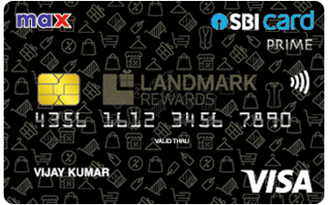 Max SBI Card PRIME Details and Benefits