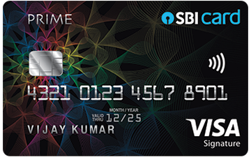 SBI PRIME Credit Card Details and Benefits