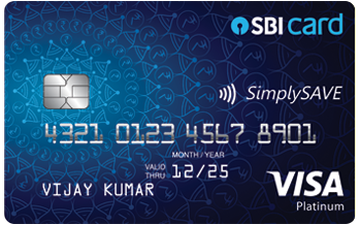 SBI SimplySAVE Credit Card Details and Benefits