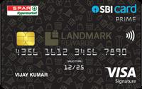 Spar SBI Card PRIME