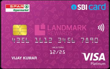 Spar SBI Card Details and Benefits